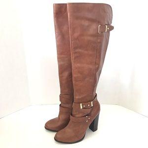 Aldo Women's ULOCIA High Shaft Boot Brown Leather